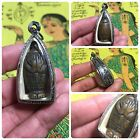 Beautiful Thai Buddha Amulet Talisman Pendant Luck Rich Attracted Protected 12