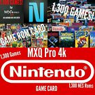 MXQ PRO 4k S905X ANDROID TV BOX GAME CARD ONLY NES GAME CARD WITH 1300 GAMES