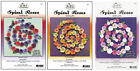 SPIRAL ROSES QUILLING KIT Quilled 3D Die Cut Paper Tole Flower Cardmaking U Pick