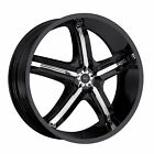 4 New 22 Wheels Rims For Hyundai XG300 XG350 Infiniti EX35 EX37 FX35 10601