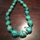 Native American Turquoise Womens Necklace 18 Inches Jewelry Ethnic Blue Green