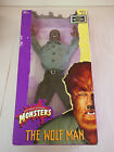 1998 SIDESHOW TOY UNIVERSAL STUDIOS MONSTERS 12 THE WOLF MAN FIGURE SEALED