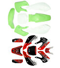 Plastic Fender Fairing Kit +Graphic Sticker fr Kawasaki KLX 110 DRZ KX 65 Green