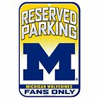 Michigan Wolverines Sign 11 x 17 Plastic