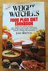 Weight Watchers Food Plan Diet Cookbook by Jean T Nidetch 1982 Hardcover Vtg