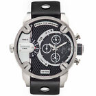 Diesel Original DZ7256 Little Daddy Men's Chronograph Black Leather Watch