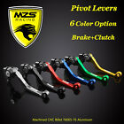 MZS Pivot Clutch Brake Levers For Honda CR125R/CR250R CRF450X CRF250X CRF450R