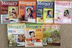 Memory Makers Magazines 2008 Lot Of 6 + Aug 2007 PaperCrafts Magazine