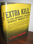 1st Edition EXTRA KILL Dell Shannon LUIS MENDOZA Crime MYSTERY First Printing