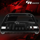 "BLACK 3"" BULL BAR PUSH BUMPER GRILLE/GRILL GUARD FOR 16-17 TOYOTA TACOMA TRUCK"