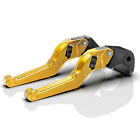 MZS Red Short Clutch Brake Levers For Kawasaki ZX10R 06-15 ZX6R/636 2007-2016