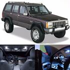 LED White Lights Interior Package Kit For Jeep Cherokee 1997 2001
