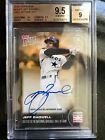 ON CARD AUTO JEFF BAGWELL-TOPPS NOW HALL OF FAME CLASS 2017 1 1 BGS 9.5 IN HAND