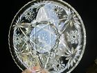 Early American Prescut EAPC Anchor Hocking Divided Swirl Round Relish Plate Star