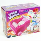Girls Sticker Maker Machine Craft Maker For Kids Fun Arts And Crafts Project