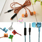 ZH93 Stereo 35mm in Ear Headphones Earphones With MIC for For Call Phone HTC LG