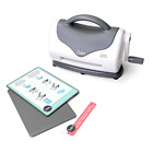 Sizzix Texture Boutique Embossing Machine Only Personal Card Making White Gray