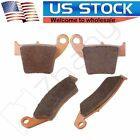 Fits Honda CRF450X CRF450R CRF250X CRF250R Front and Rear Sintered Brake Pads