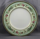 Fitz & Floyd Winter Holiday Salad Plate Green Wreath Sold Individually