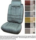 80-88 Cutlass Salon Brougham Supreme Front Seat Covers W Cloth Inserts - Pui