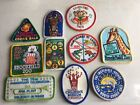 Lot Of 10 Vintage Girl Scout Patches