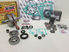 KAWASAKI KX 85 WRENCH RABBIT ENGINE REBUILD KIT CRANKSHAFT, PISTON 2014-2016