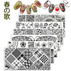 New Nail Art Stamping Image Plates Stainless Steel Stamp Template Manicure