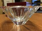 Orrefors Crystal Bowl Marin straight cut Stunning With Box!