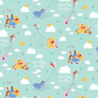 Disney Winnie the Pooh Kite Flying 100 Cotton fabric by the yard