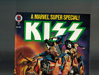 Marvel Comics Super Special 5 Marvel Fully Attached Center Page KISS Poster