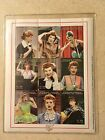 I Love Lucy Stamps Sheet Best of Lucy Comoros Islands COA