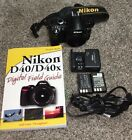 Nikon D40 102 MP Digital SLR Camera Black Body Only With Accessories