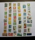 Rare Vintage Used US Postage Stamps Lot B68 Free Shipping