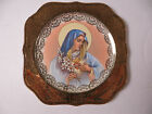 Rare Beauty!VIRGIN MARY Homer Laughlin C52N5 Eggshell Nautilus 22k plate 8