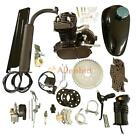 Bicycle 2 Stroke 50cc Petrol Gas Motorized Engine Bike Motor Kit Black