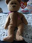 Rare Retired Ty Beanie Baby 'Curly' The Bear With Many Errors Mint #4052