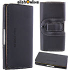 Universal Leather Mobile Belt Loop Pouch Case Cover for Apple iPhone 7 8 Plus X