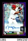 2015 Bowman Draft Baseball Cards - Review Added 69
