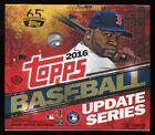 (2) 2016 TOPPS UPDATE SERIES BASEBALL SEALED HOBBY JUMBO BOX LOT 3000 hits club