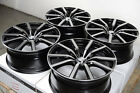 18 Effect Wheels Rims Black 5x108 Ford Focus Taurus Jaguar S Type XJ XJ8 XJ8L