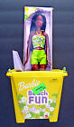 BEACH FUN BARBIE African American Doll with Sand Bucket and Shovel NRFB 2002