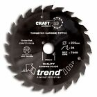 Trend Craft Saw Blade 235mm X24tx30mm CSB/TC23524