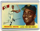 Top 10 Baseball Cards to Remember Monte Irvin 22