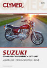 CLYMER Repair Manual, Suzuki GS400 1977-78, GS425 1979, GS450 1980-83, 1985-87
