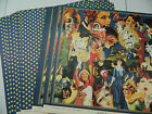 Graphic 45 Scrapbook Paper 12x12 Fashionista Lot of 50 Double Sided Sheets