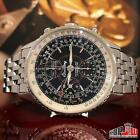 Breitling A21330 Navitimer Montbrillant Datora Stainless Automatic Mens Watch