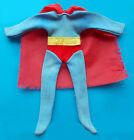 1974 SUPERMAN 8 mego wgsh figure SUIT with CLOTH SHORTS  RED CAPE