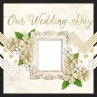 THE WEDDING COVERS 2 Premade Scrapbook Pages EZ Layout 668