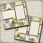 THE WEDDING EIGHT 2 Premade Scrapbook Pages EZ Layout 664