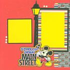 DISNEY MAINSTREET 2 Premade Scrapbook Pages EZ Layout 623